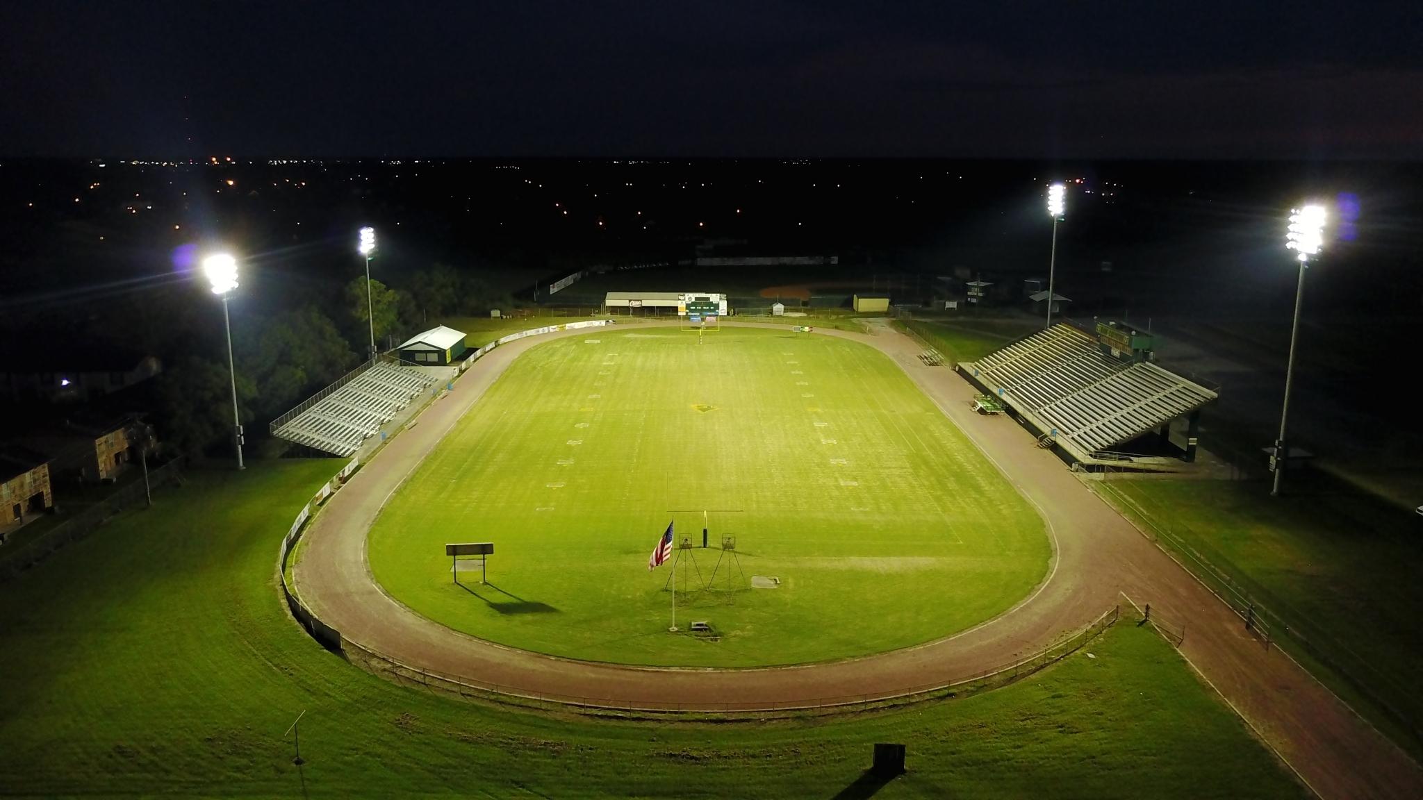 Acadiana High School (Lafayette LA) & GeoSport™ Lighting Projects | Geo-Surfaces azcodes.com